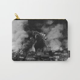 Old Time Godzilla San Francisco Fire Carry-All Pouch
