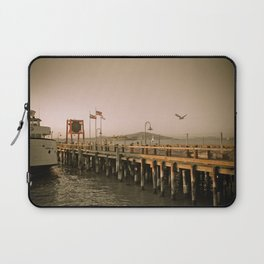 View of Alcatraz - The Rock Laptop Sleeve