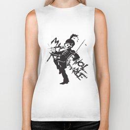 Nwt My Chemical Romance Gerard Way Mcr The Black Parade 2 Tones Baseball T-Shirts Biker Tank