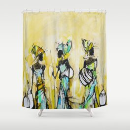 African Pride 2 Shower Curtain