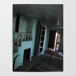 Abandoned room Poster