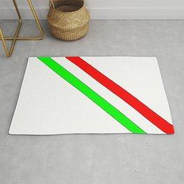flag of Italia scarf- Italy,Italia,Italian,Latine,Roma,venezia,venice,mediterreanean,Genoa,firenze Rug