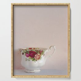 Teacup Lone Serving Tray