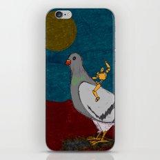 Pigeon Rodeo iPhone & iPod Skin