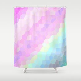 Pastel Illusions Shower Curtain