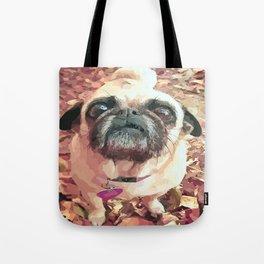 Pug Love ~ In Delilah's Eyes Tote Bag