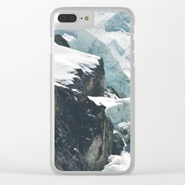 Climate change is as close as you can see Clear iPhone Case