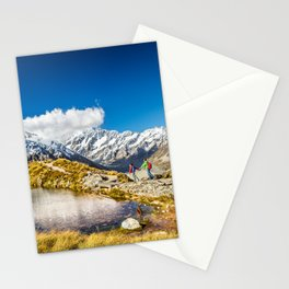 New Zealand Mount Cook Aoraki Stationery Cards