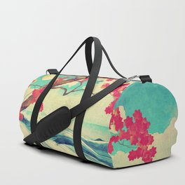 Waking to the Wild and Beautiful Ocean of Dhin Duffle Bag
