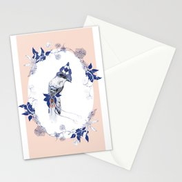 Magpie Bird Stationery Cards
