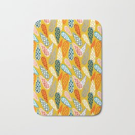 Colored Cone pattern Bath Mat