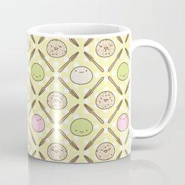 Mochi Kochi   Pattern in Yellow Coffee Mug