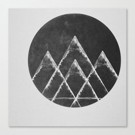 Masks & Mirrors Canvas Print