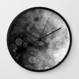 Black and White Spotted3 Wall Clock