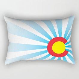 Colorado Sunrise Rectangular Pillow