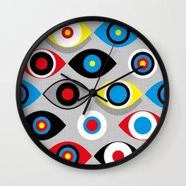 Eye on the Target Wall Clock