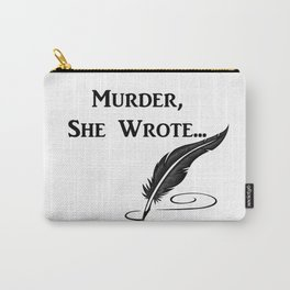 murder she wrote Carry-All Pouch