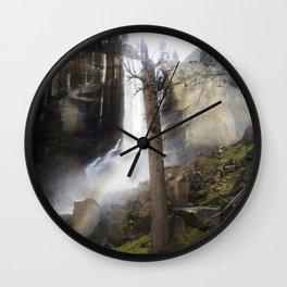 Mist Trail Wall Clock