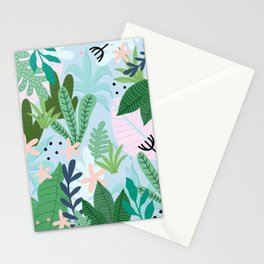 Into the jungle Stationery Cards