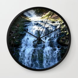 Alone in Secret Hollow with the Caves, Cascades, and Critters, No. 5 of 21 Wall Clock