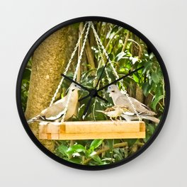 Dove Dining Wall Clock