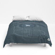 BLADE RUNNER (Voight Kampf Test Version) Comforters