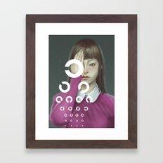 Eye Test Framed Art Print