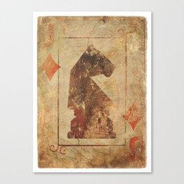Valet Canvas Print