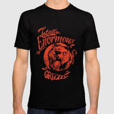 Enormous Grizzly Mens Fitted Tee Black X-LARGE