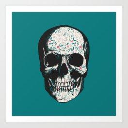 G-Skull Art Print