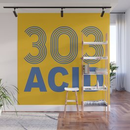 303 Acid Rave Quote Wall Mural