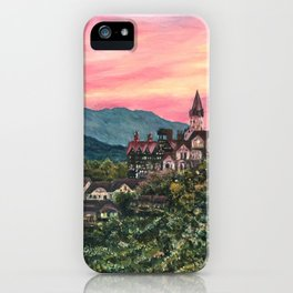 Eastern castle in the sunset, Cingjing, Taiwan iPhone Case