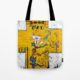 Lost Cat Tote Bag