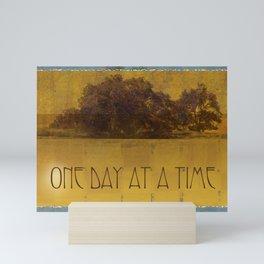 ODAT Oaks by the Lake Mini Art Print
