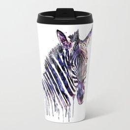 Zebra Head Travel Mug