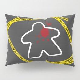 Dead Meeple Crime Scene Pillow Sham
