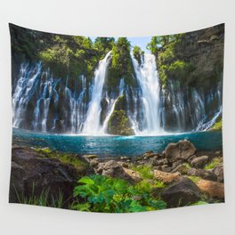 Burney Falls Delight Wall Tapestry