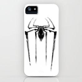 Amazing Spiderman B/W iPhone Case