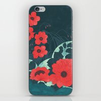 ruby iPhone & iPod Skins featuring Ruby by Tracie Andrews