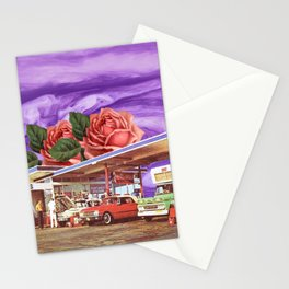 QUEEN OF THE GAS STATION Stationery Cards