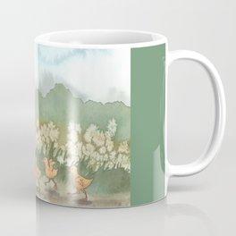 Helping with the Ducklings Coffee Mug