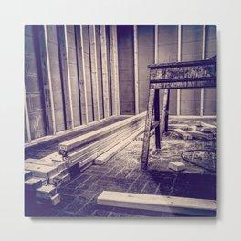Framing Abington, Sepia Metal Print
