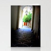 door Stationery Cards featuring Door by Eva Lesko