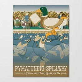Pymatuning Spillway Canvas Print
