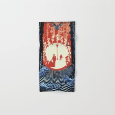 The Owls Are Not What They Seem (Twin Peaks) Hand & Bath Towel