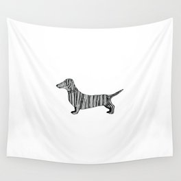 Dachshund Sausage Dog Wall Tapestry