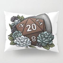 Paladin Class D20 - Tabletop Gaming Dice Pillow Sham