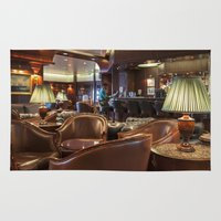 bar Area & Throw Rugs featuring Lounge Bar by Deborah Janke