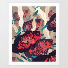 Hot Pursuit Art Print
