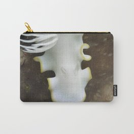 White nudibranch Carry-All Pouch